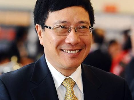 Phạm Bình Minh ủy viên bộ chính trị