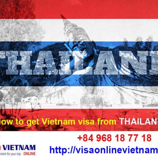 get vietnam visa in bangkok thailand