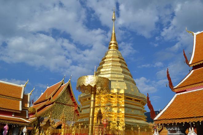 Ngôi chùa Doi Suthep linh thiêng.