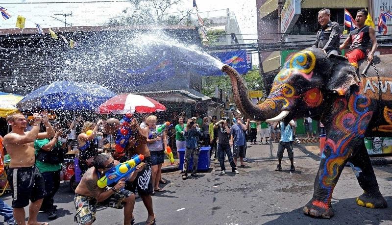 Songkran Thai Lan