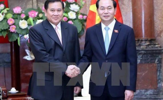 President Tran Dai Quang's passing away