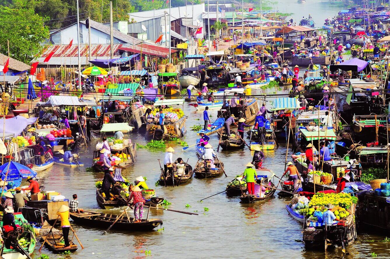 mekong delta - best places to visit Vietnam in February