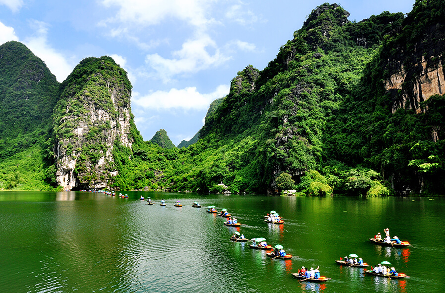 ninh binh - best places to visit Vietnam in February