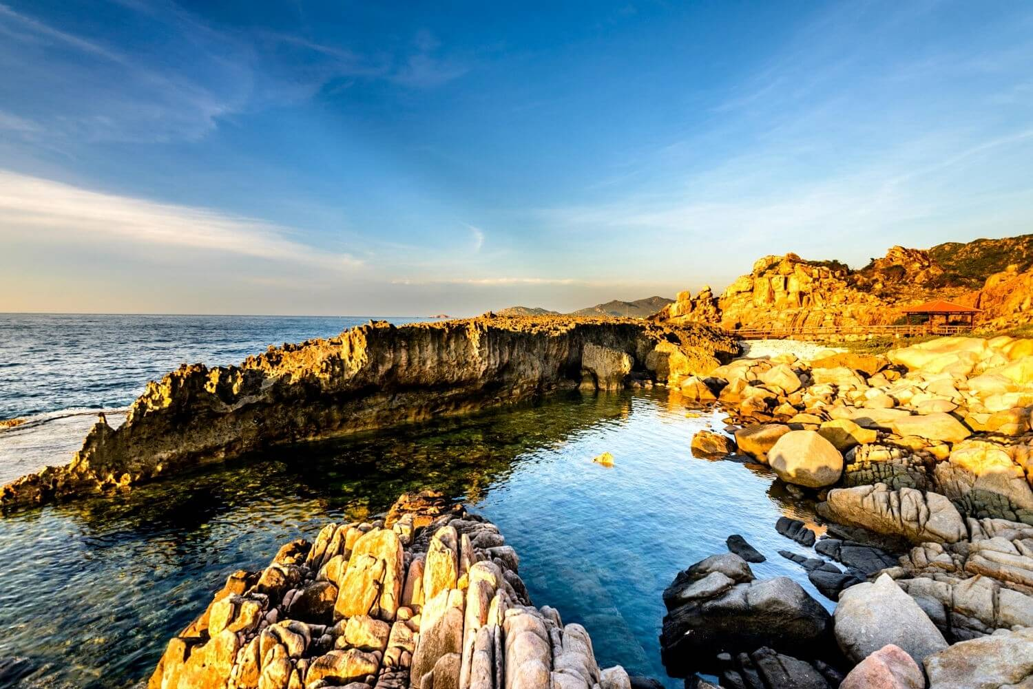 vinh hy bay - best places to visit Vietnam in February