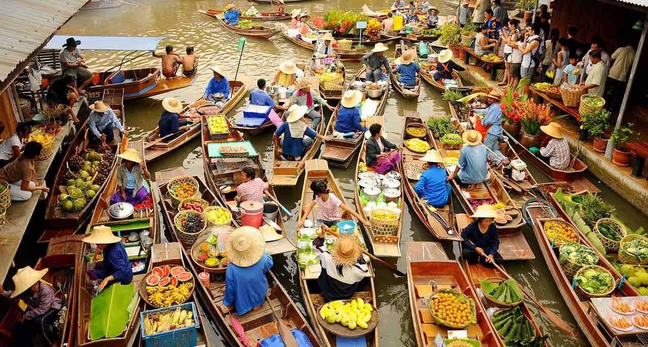 Cho noi 4 mien Thai Lan