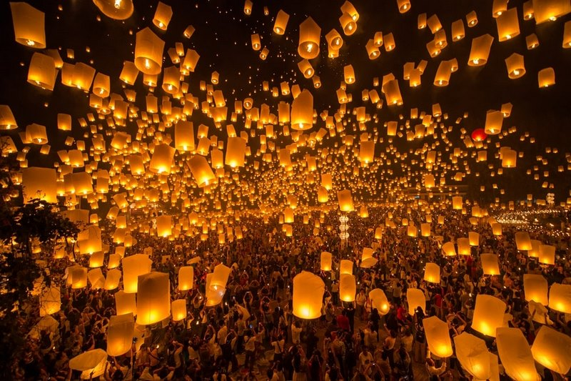 Yee-Peng-Lantern-Festivals