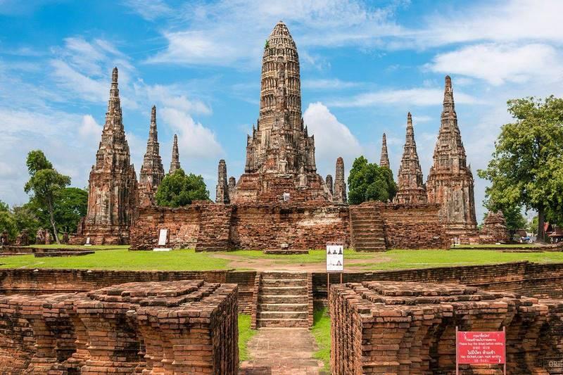 Ayutthaya - vương quốc cũ của Thái Lan