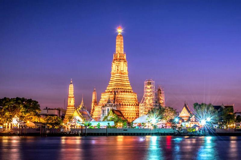 Thủ đô Bang Kok sôi động