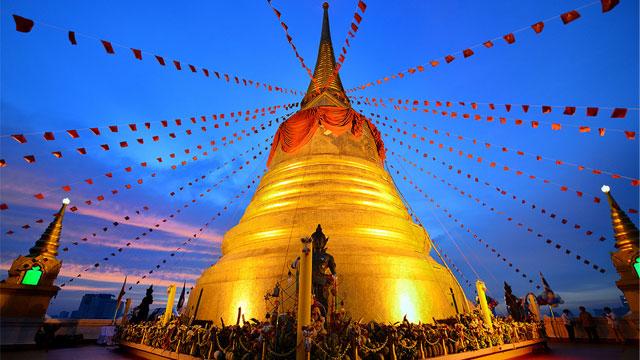 Ngôi chùa vàng Wat saket