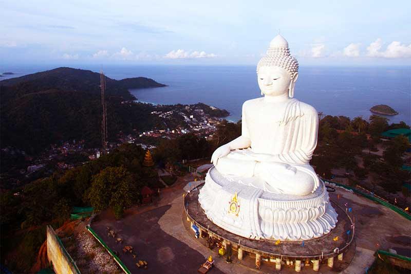 Biểu tượng của niềm hi vọng, khát vọng sống hướng thiện của người Thái Tượng Phật Lớn Big Buddha