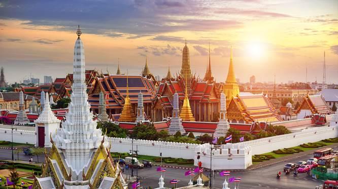 Các địa danh nổi tiếng của du lịch Thái Lan từ Bắc chí Nam