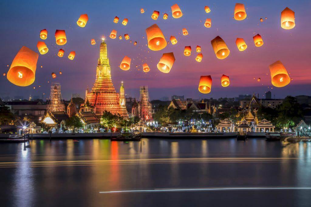 Thông tin thú vị du lịch Thái Lan tháng 3 – 2019 dành cho bạn thời tiết tháng 3 vô cùng dễ chịu tại các tình miền Nam, Trung, Trung tâm Thái Lan