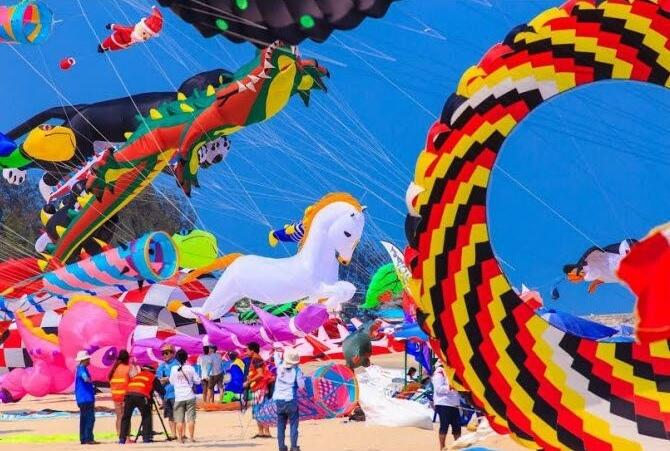 Mách bạn các thông tin thú vị du lịch Thái Lan tháng 3 – 2019 Lễ hội diều Kite Fastival được tổ chức thường niên vào tháng 3 hàng năm