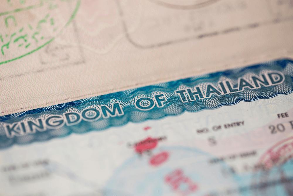 làm visa đi Thái Lan