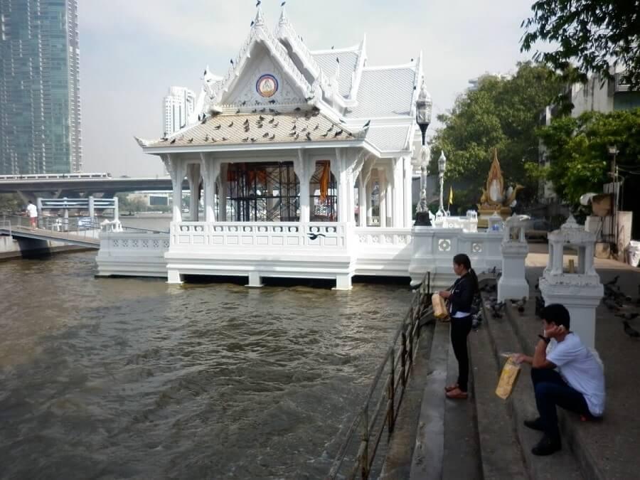 chùa thuyền Thái Lan