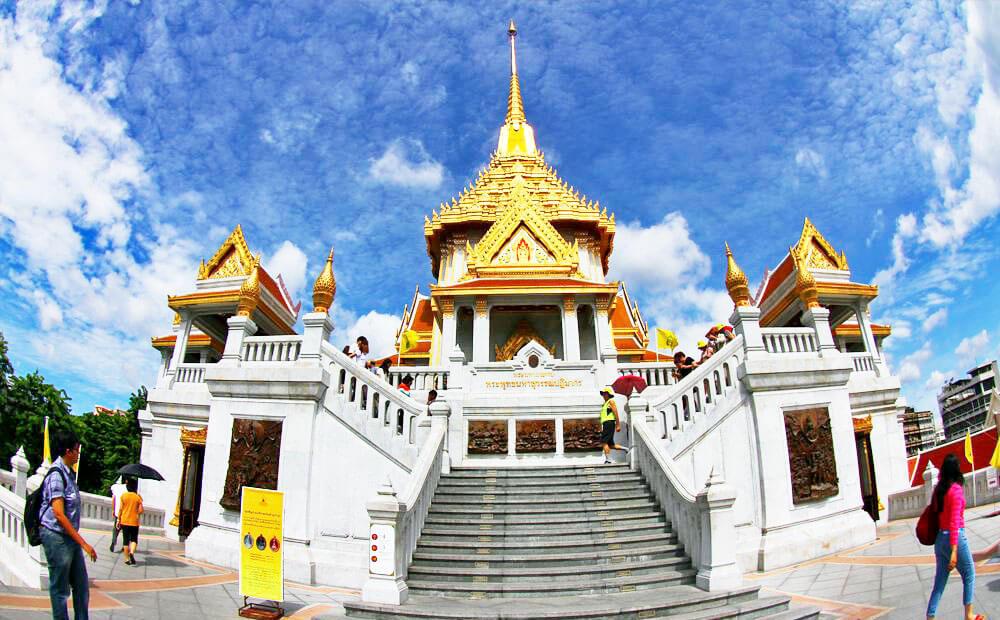 Chùa Phật Vàng với tượng Phật lớn nhất thế giới