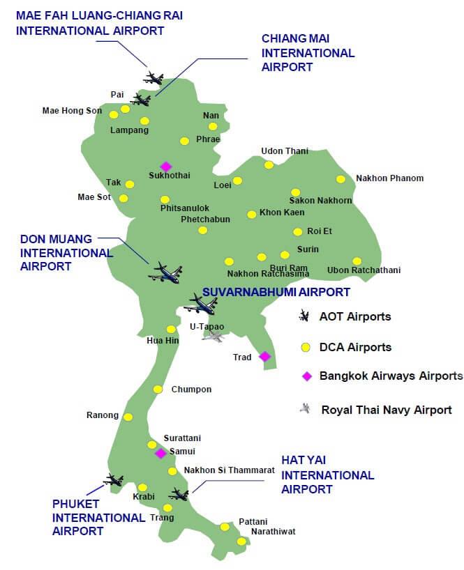 giá vé máy bay từ Hà Nội đi Thái Lan