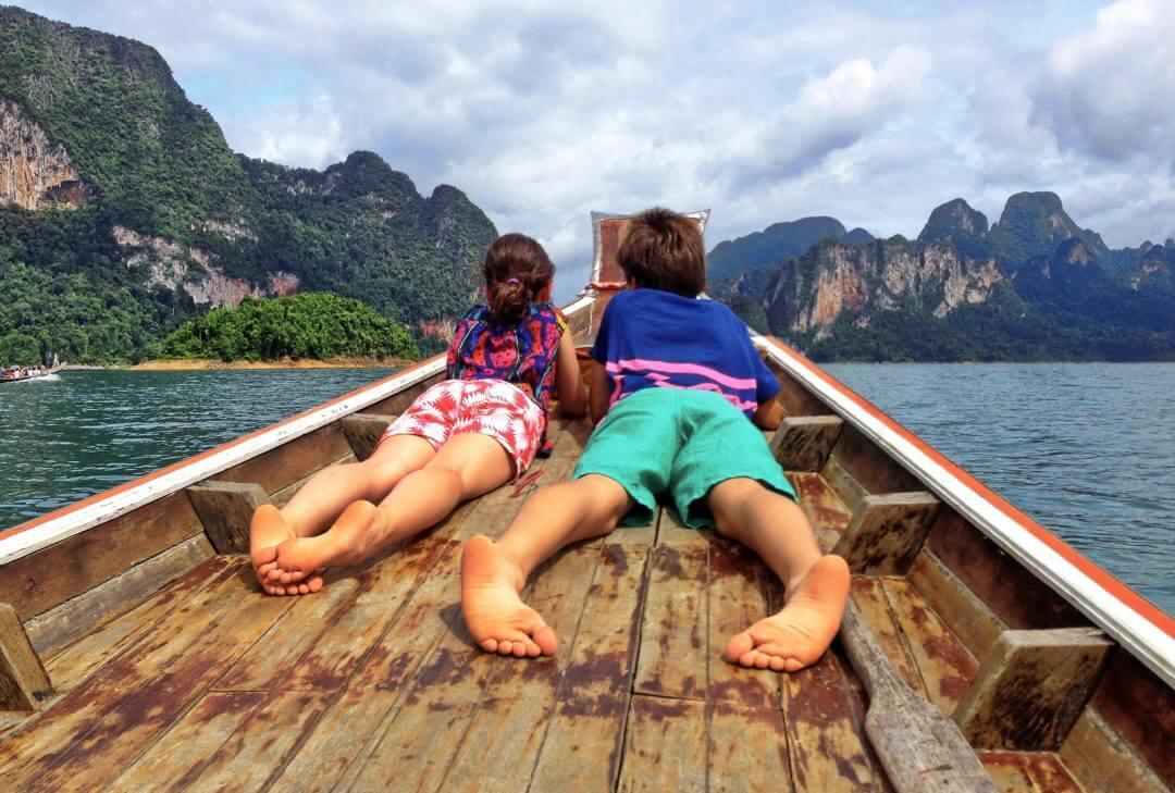 kinh nghiệm cho bé đi du lịch Thái Lan