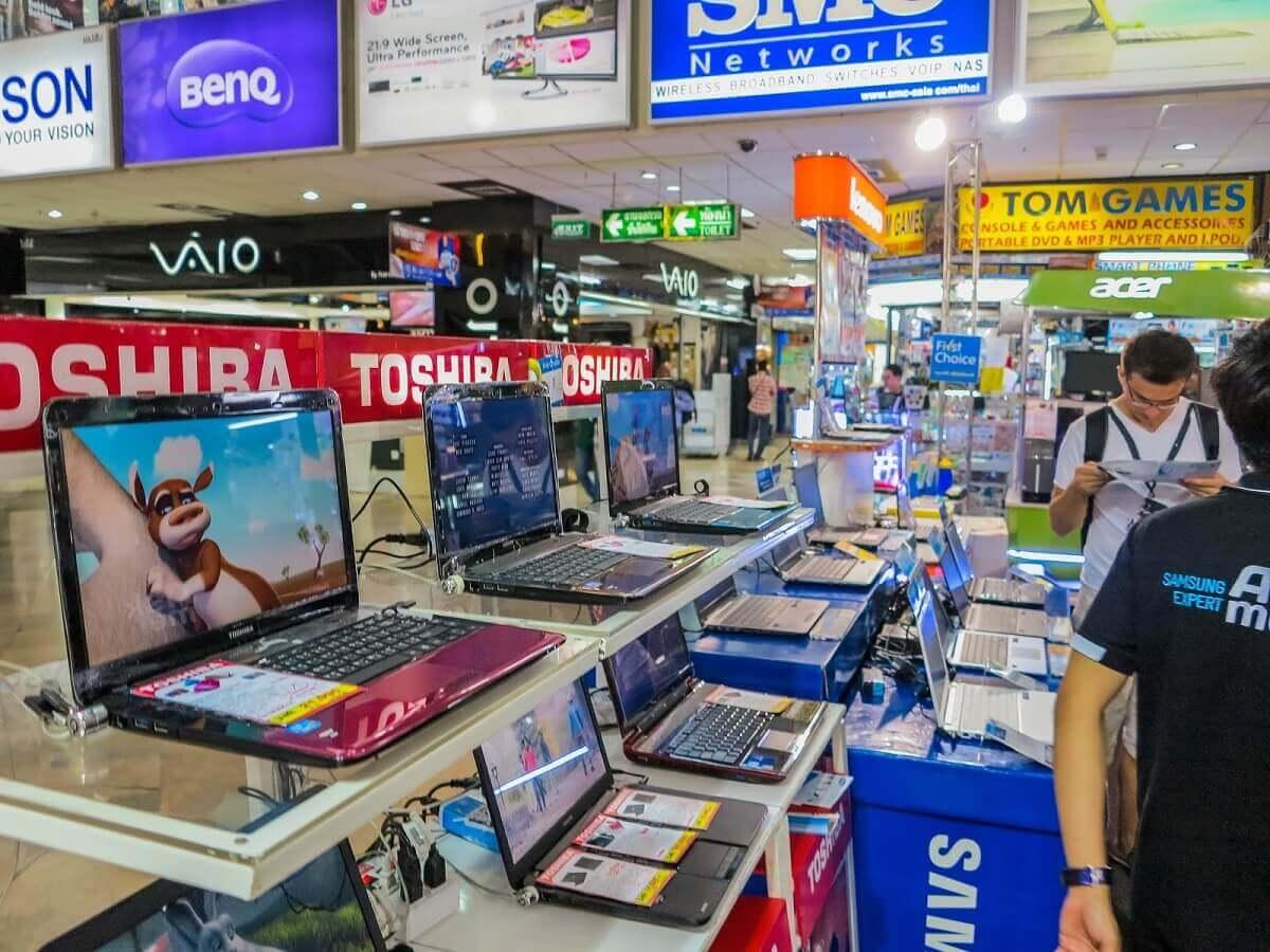 Mua đồ điện tử ở Thái Lan