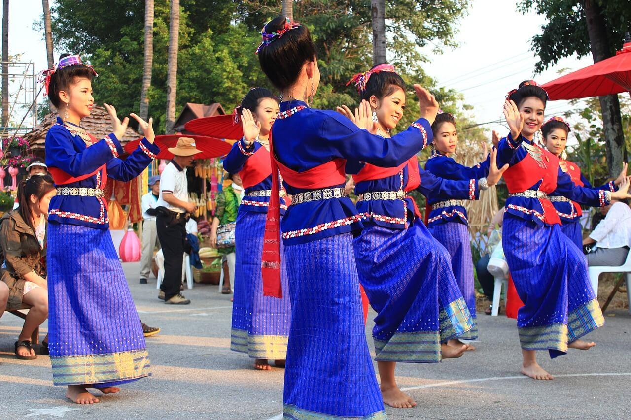 múa thái hay nhất cổ truyền của người Thái