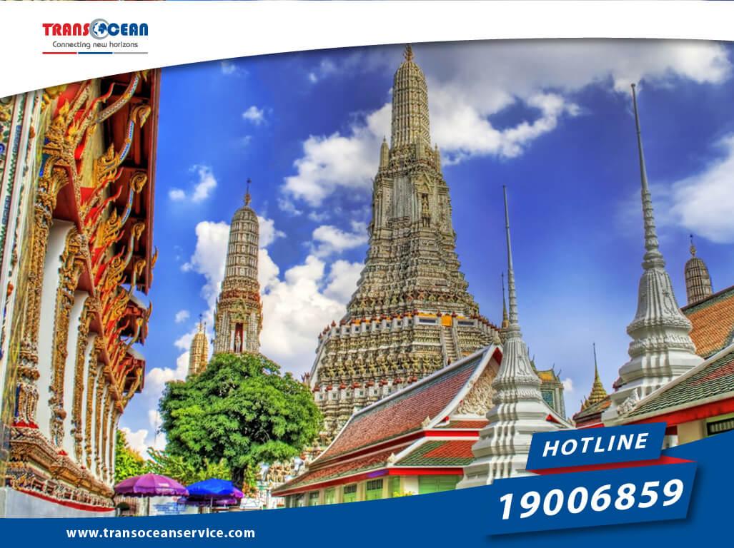 đi Thái Lan vào tháng 9