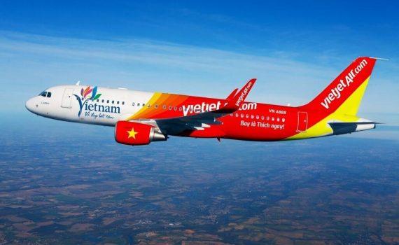 Vé máy bay đi Thái Lan Vietjet