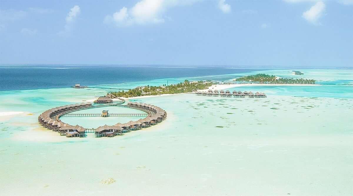 Du lịch Maldives: Những khách sạn sang trọng nằm giữa lòng đại dương