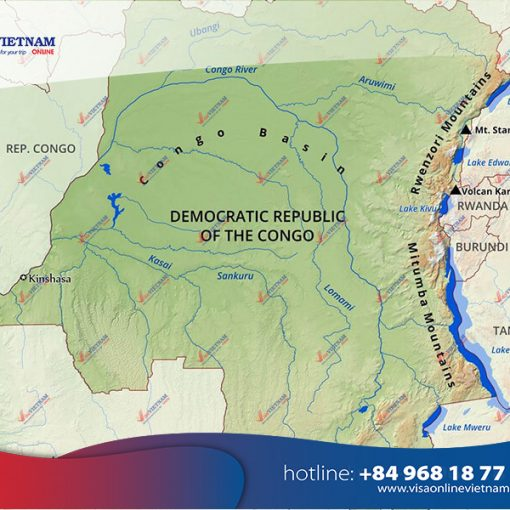 How to get Vietnam visa on arrival in Congo?