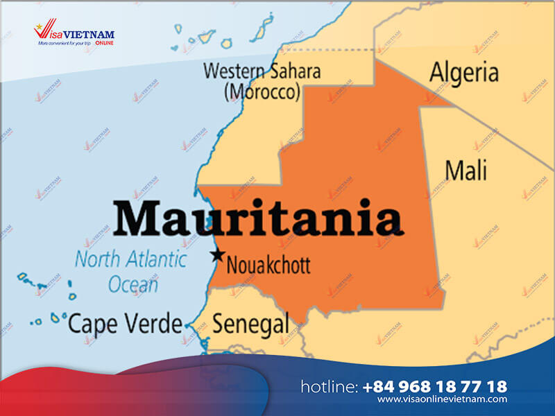 Way to get Vietnam visa on arrival in Mauritania