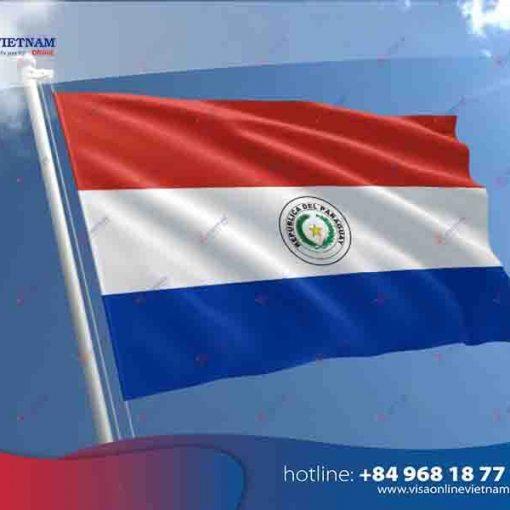 How to get Vietnam visa on Arrival in Paraguay?