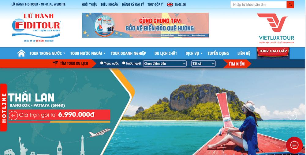 Top 7 Website Đặt Tour Du Lịch Uy Tín Nhất Tại Việt Nam