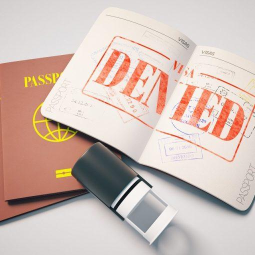 từ chối gia hạn visa Mỹ